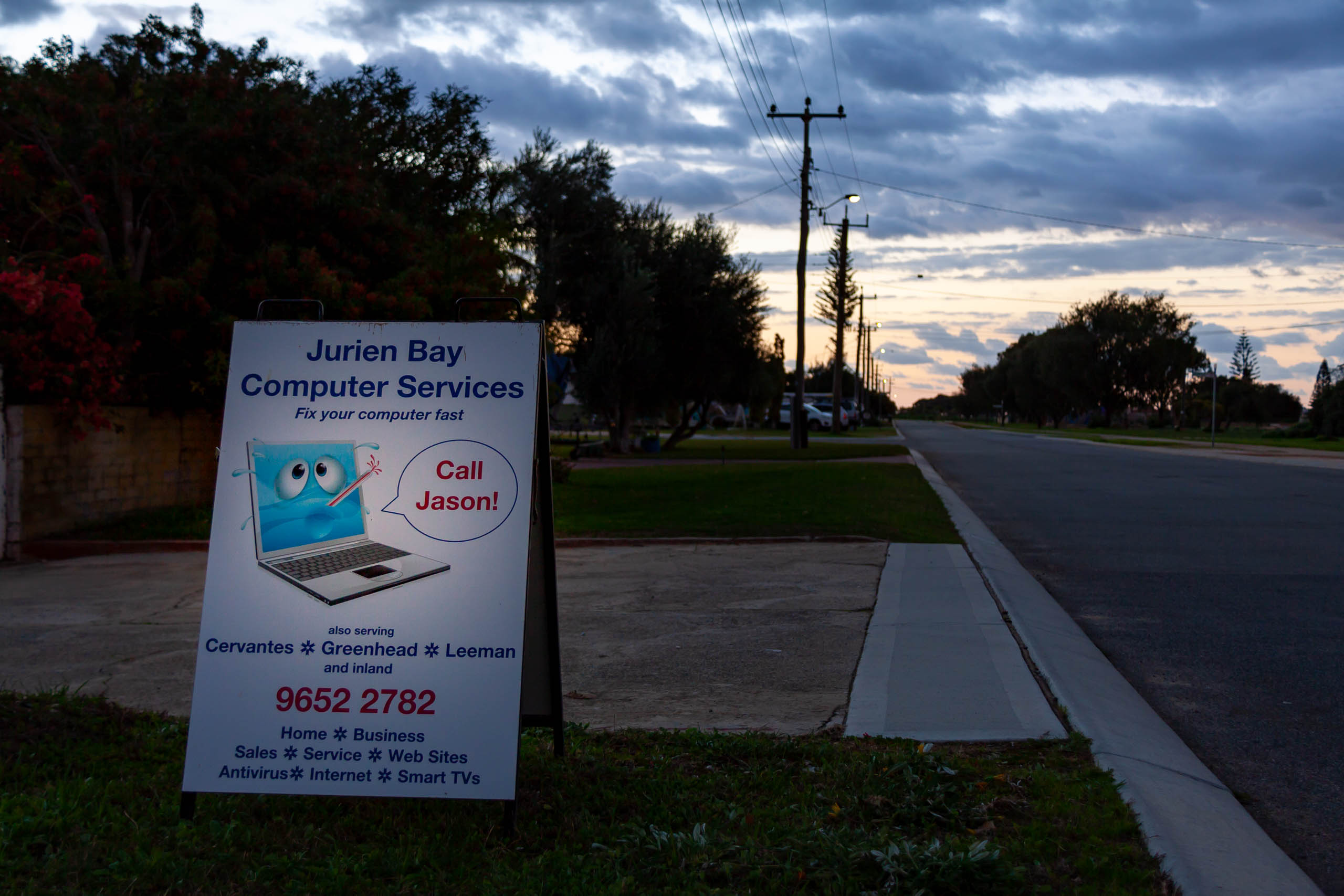 Image showing the front of Jurien Computers